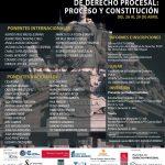 VI Seminario Internacional de derecho procesal: proceso y Constitución.