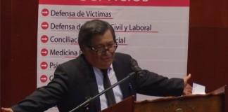 Mario Pablo Rodríguez Hurtado destaca los ejemplos de Roxin, Jiménez de Asúa y López Albújar