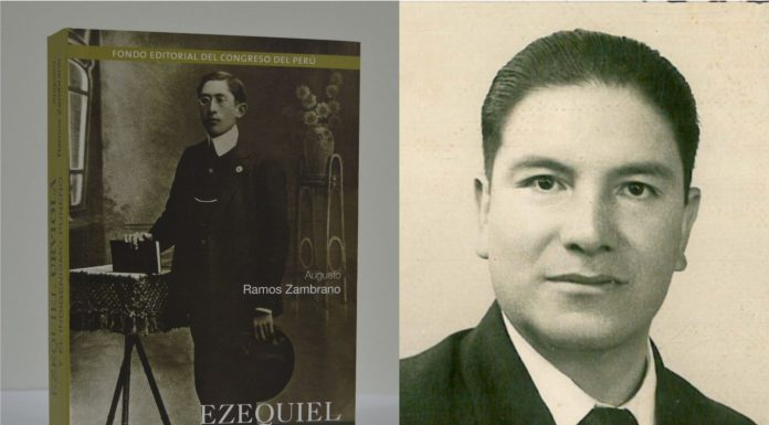 """Congreso presentará libro """"Ezequiel Urviola y el indigenismo puneño"""", de Augusto Ramos Zambrano."""