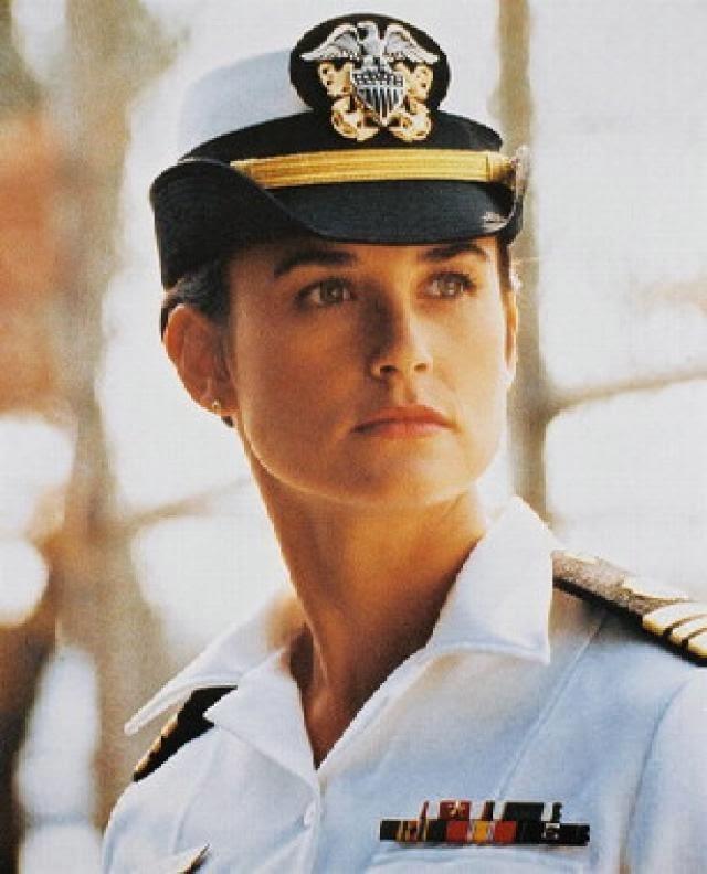 6. Joanne Galloway (Algunos hombres buenos). Interpretada por Demi Moore.