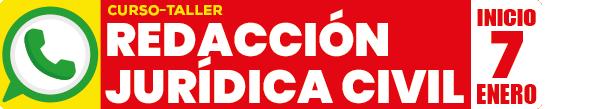 Curso-taller de redacción jurídica en materia civil